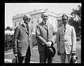 Calvin Coolidge and group outside White House, Washington, D.C. LCCN2016892560.jpg