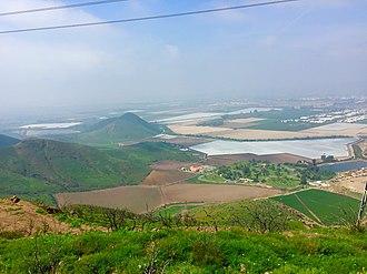 Dos Vientos Open Space - Camarillo as seen from the Vista Del Mar Trail.