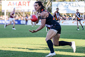 Northern Territory Football Club - Former captain and five-time club champion, Cameron Ilett, during July 2015.
