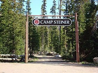 Great Salt Lake Council - Image: Camp Steiner Entrance