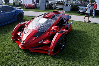 Aero 3S - Image: Campagna T Rex 2012 Aero 3S L Side Front FOSSP 7April 2013 (14586290092)