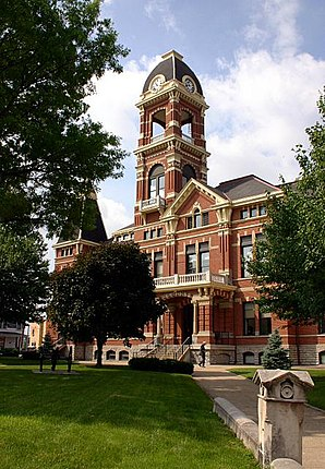 Campbell County Courthouse in Newport, gelistet im NRHP Nr. 88000181[1]
