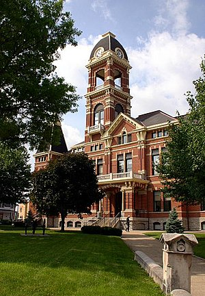 The Campbell County Courthouse in Newport