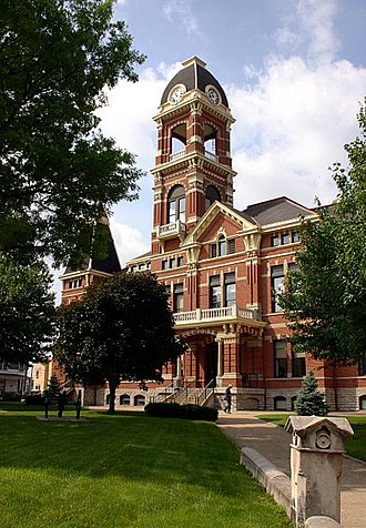 Campbell County, Kentucky - Image: Campbell county courthouse newport ky