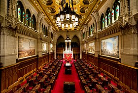 A case for the Canadian senate.  Whats wrong, and how it can be fixed. Canadian Senate chamber