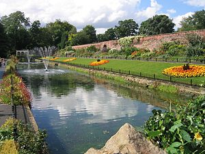 Roundhay - Image: Canal Gardens Aug 2007