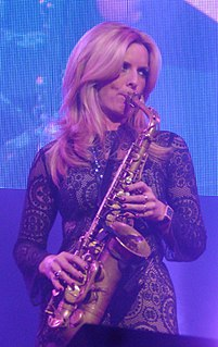 Candy Dulfer Dutch saxophonist and singer
