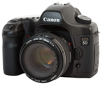 Canon EOS 5D - Image: Canon EOS 5D