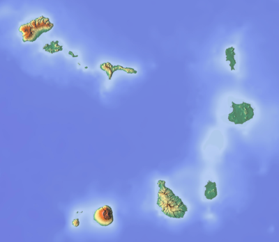 Location map Cape Verde