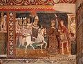 Cappella di san silvestro, affreschi del 1246, storie di costantino 06 donazione di costantino 0.jpg