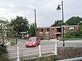 Car turning from Bridge Street into Riverside - geograph.org.uk - 2070081.jpg