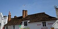 Carfax Horsham West Sussex England - Horsham Stone tiled roof 2.jpg