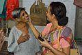 Caring Mentally Challenged Woman - Baganda - Hooghly 2014-09-28 8555.JPG