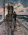 Carl Bössenroth U-Boot Auf der Fahrt.jpg