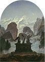 Carl Gustav Carus - The Goethe Monument - WGA4518.jpg