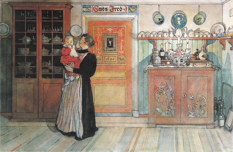 Файл: Карл Ларссон - Меллан Джул Оч Нёр - Этт Хем - 1899.tif
