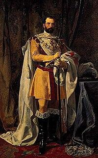 Carl XV of Sweden c 1865 by Johan Fredrik Höckert.jpg