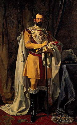 Carl XV of Sweden c 1865 by Johan Fredrik Höckert.jpg