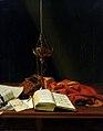 Carl von Bergen - Stilleben mit Bibel (1821).jpg