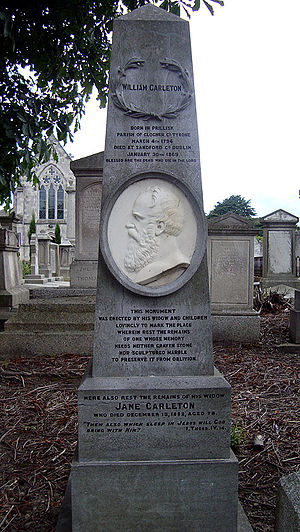 William Carleton - Grave of William Carleton