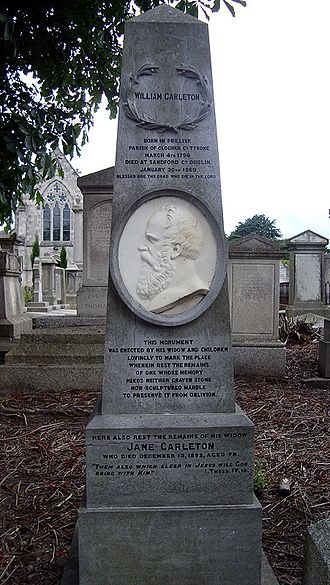 William Carleton - Grave of William Carleton