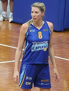 Carly Wilson Australian basketball player