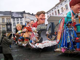 Carnival of Aalst - The carnival in 2010