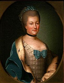 Countess Palatine Caroline of Zweibrücken german noble