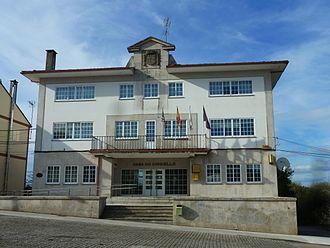 Cospeito - Image: Casa concello Cospeito, Lugo