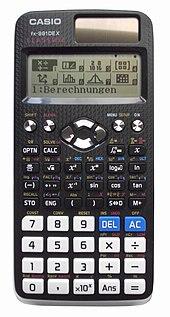 casio fx-100d calculator manual