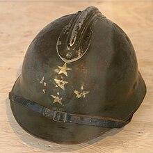Casque de général d'armée français