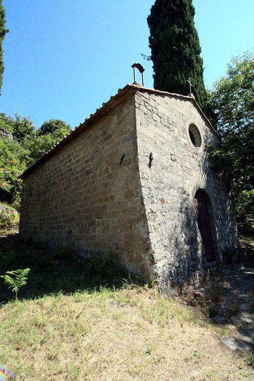 Castel del Piano, Chiesa di San Biagio a Gravilona
