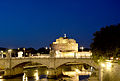 Castel Sant'angelo anf Vittorio Bridge at night.jpg