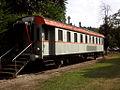 Castiglione Olona - stazione ferroviaria - carrozza ex FS.JPG