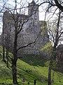 Castillo de Bran, desde abajo.jpg