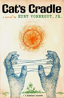 <i>Cats Cradle</i> 1963 novel by Kurt Vonnegut