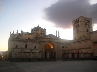 Juan García de Salazar - the cathedral of Zamora