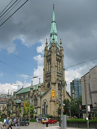 Cathedral Church of St. James (Toronto) - Exterior view in 2013