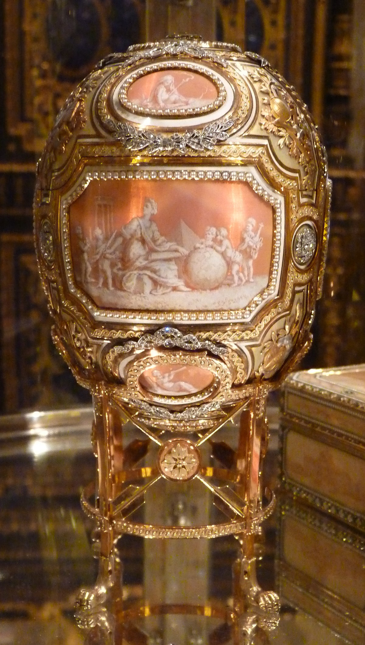 Catherine The Great Faberg 233 Egg Wikipedia
