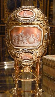 Catherine the Great (Fabergé egg) 1914 Imperial Fabergé egg
