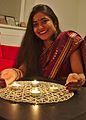 Celebrating Diwali at Tyršova, CZ (14099845045).jpg