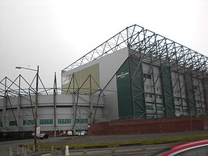 Lisbon Lions - The east stand at Celtic Park stadium is named in honour of the team