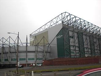 1993 Scottish Cup Final - Image: Celtic FC Lisbon Lions Stand