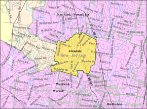Census Bureau map of Allendale, New Jersey.png