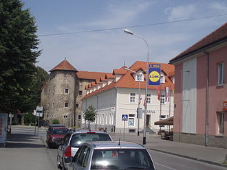 Ogulin - Image: Center of Ogulin.city