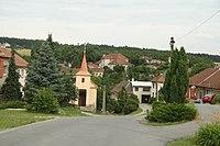 Center of Sudice, Třebíč District.JPG