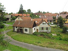 Center part of Rohy, Třebíč District.JPG