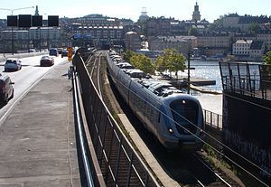 Stockholm City Line - The new tunnel will divert Stockholm's commuter traffic from the busy main line through the city.