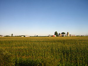 Centre-du-Québec - Open farmland—A typical scene in the Centre-du-Québec.