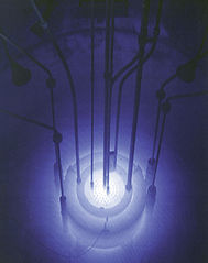 Cherenkov Radiation Credit: Wikipedia